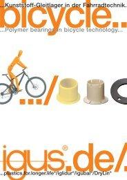 Gleitlager in der Fahrradtechnik (PDF) - Igus