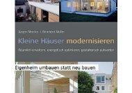 Kleine Häuser modernisieren - Architektur.terminal