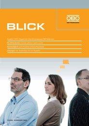 Ausgabe 1/2012 | Magazin der ... - OBO Bettermann