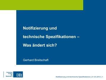 Lecture Breitschaft - Deutsches Institut für Bautechnik