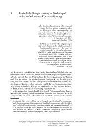3 Lexikalische Kategorisierung im Wechselspiel zwischen Diskurs ...