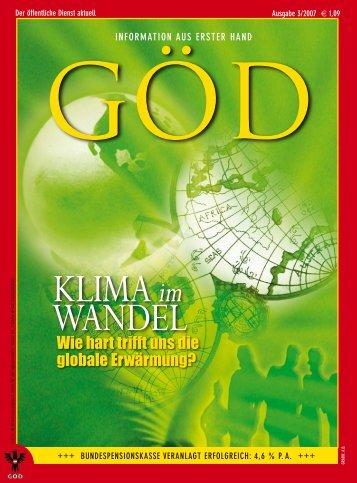 Ausgabe 3/2007 - Gewerkschaft Öffentlicher Dienst