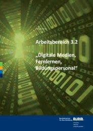 Digitale Medien, Fernlernen, Bildungspersonal - BiBB