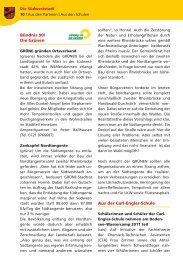 Bürgerblatt Juni 2011 - Carl-Engler-Schule - Karlsruhe