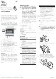 Kameraumschalter 3239-4915.TB.V.REG - Feller Clixx