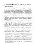 NEXUS: Vollautomatische Konvertierung mehrfach XML-annotierter ... - Page 7