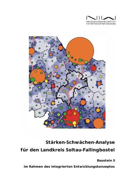 Stärken-Schwächen-Analyse für den Landkreis Soltau ... - NIW