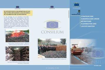 strategie der europäischen union betreffend kleinwaffen und leichte ...