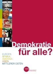 Demokratie für alle? - Bundeszentrale für politische Bildung