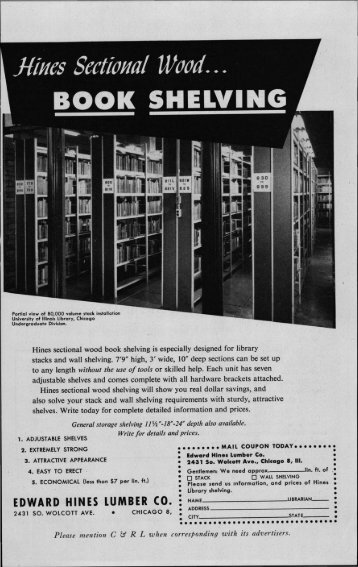 Back Matter (PDF) - College & Research Libraries