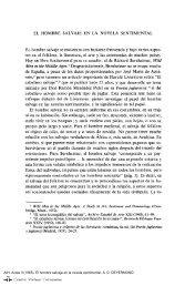 El hombre salvaje en la novela sentimental - Centro Virtual Cervantes