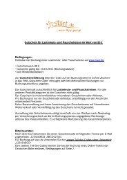 Gutschein für Lastminute- und Pauschalreisen im Wert ... - DailyDeal