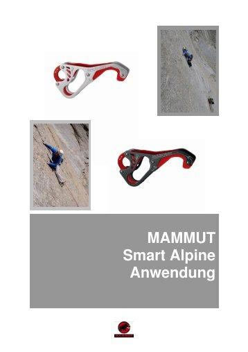Smart Alpine Anwendung - Mammut