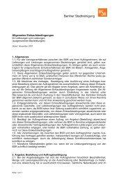 Allgemeine Einkaufsbedingungen für Lieferungen und ... - BSR