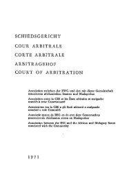 Schiedsgericht - Archive of European Integration