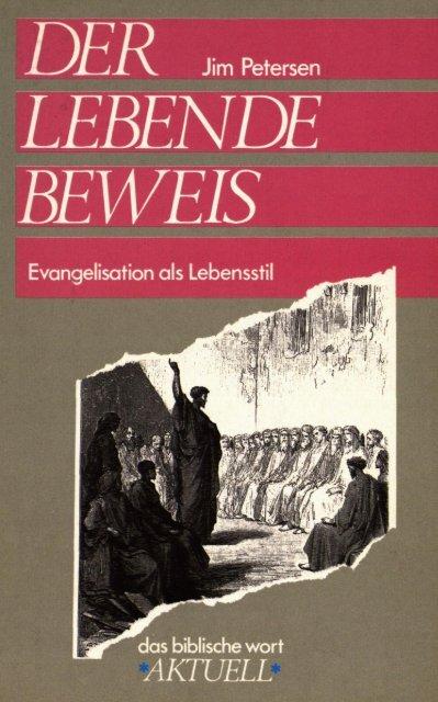 €R , im Petersen Evangelisation als Lebensstil