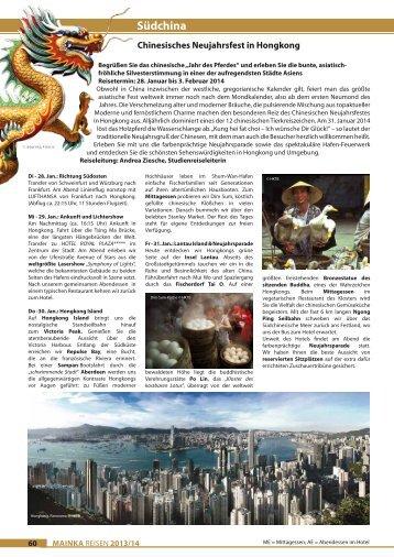 Katalogseiten zum Ausdrucken - Mainka-Reisen Startseite