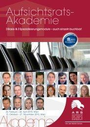 AUFSICHTSRATS-Akademie - Dorda Brugger & Jordis