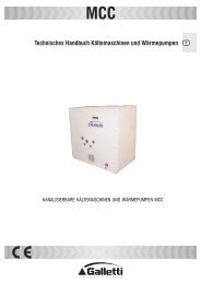 Technisches Handbuch Kältemaschinen und Wärmepumpen
