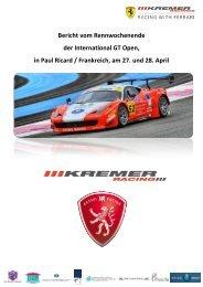 Rennbericht Circuit Paul Ricard - gk group ag