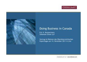 02_Bremermann_Doing Business in Canada ... - Amiando