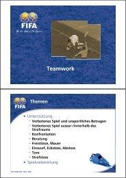 Teamwork - FIFA.com