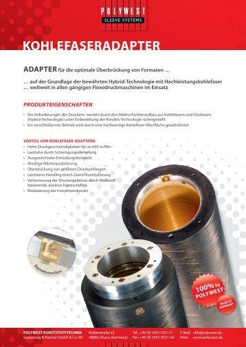 KOHLEFASERADAPTER - Polywest Kunststofftechnik GmbH
