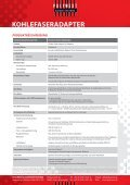 KOHLEFASERADAPTER - Polywest Kunststofftechnik GmbH - Page 2