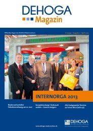 Magazin - DEHOGA Niedersachsen