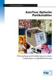 AEROTRAK Optische Partikelzähler - TSI