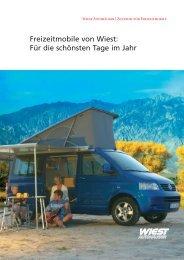 Freizeitmobile von Wiest: Für die schönsten ... - Wiest Autohäuser