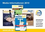 Media-Informationen 2010 - ATR