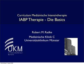 IABP Therapie - Die Basics