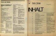 Farbe + Design - Deutsches Farbenzentrum eV