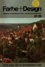 FARB-INFO '83 - Deutsches Farbenzentrum eV