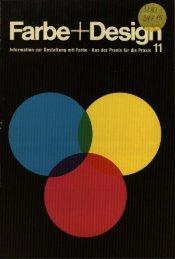 Farbe+Design - Deutsches Farbenzentrum eV