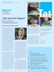 4. Ausgabe 2009 - Diakonisches Werk Hessen-Nassau