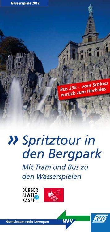 Spritztour in den Bergpark - KVG