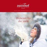 Blütezeit für die Seele - Hotel Pension Auenhof
