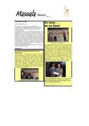 Masoala News de Nr. 33 [PDF, 283 KB] - Zoo Zürich