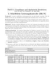 2. Schriftliche Leistungskontrolle (EK-N)