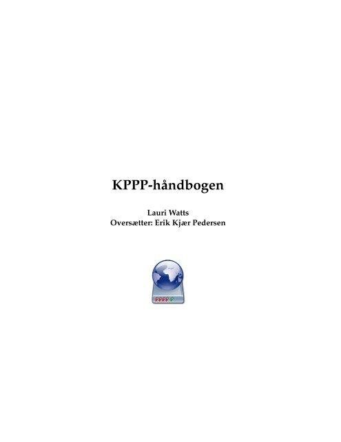 KPPP-håndbogen - KDE Documentation