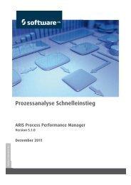 Prozessanalyse - Schnelleinstieg - Software AG Documentation