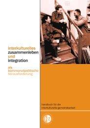 interkulturelles zusammenleben und integration