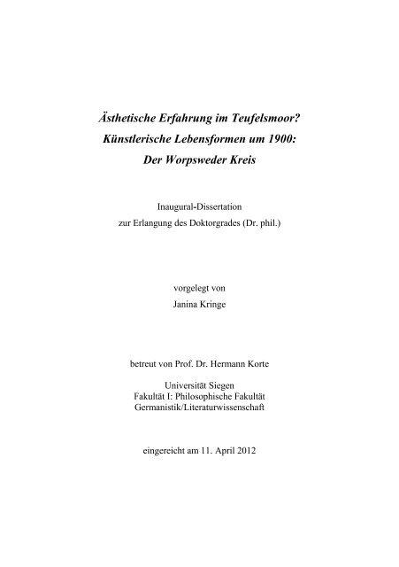 Dokument 1pdf Universität Siegen