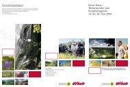 Themenwoche zum Biosphärengebiet 19. bis 28. Juni 2009