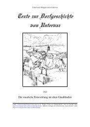 1933-Die staatliche Entwicklung im alten Graubünden