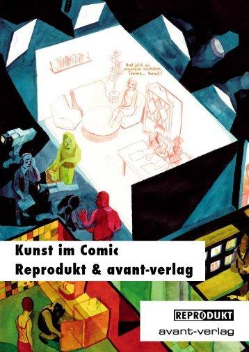 Kunst im Comic Reprodukt & avant-verlag