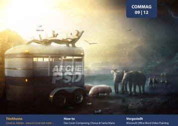 COMMAG 09 | 12 - PSD-Tutorials.de
