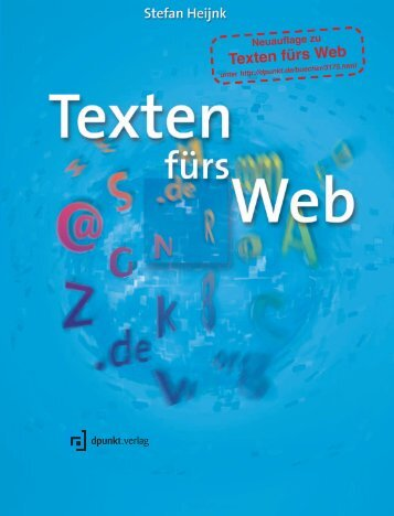 Texten fürs Web - dpunkt - Verlag